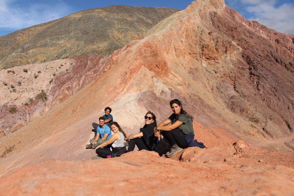 הר 7 הצבעים - פומאמארקה