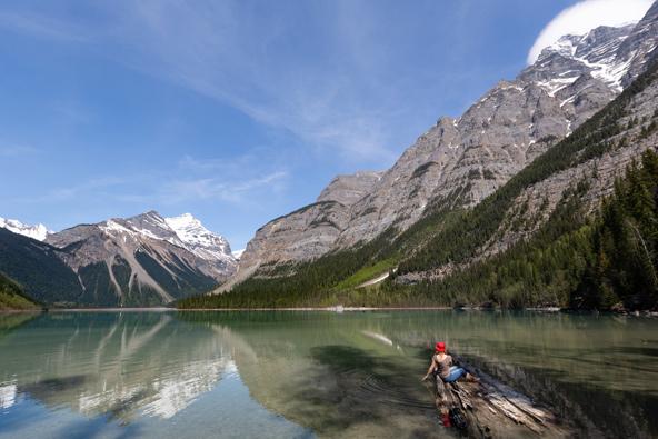 אגם קיני. טיול בהרי הרוקי הקנדיים הוא בגדר הגשמת חלום   צילום: רפי קורן