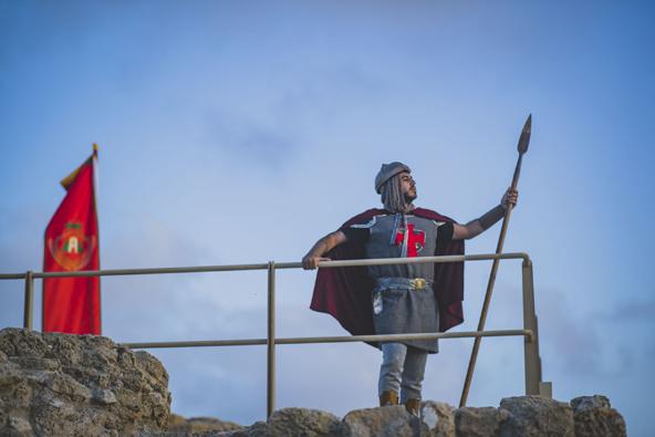 נחנכה טיילת החומות בנמל קיסריה
