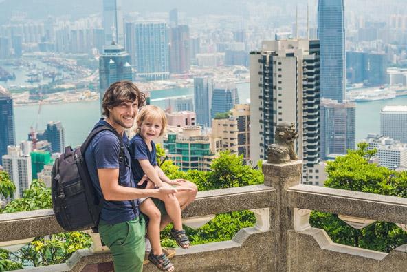 הונג קונג עם ילדים