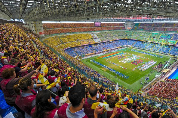 אצטדיון סן סירו, מהמרשימים באיטליה