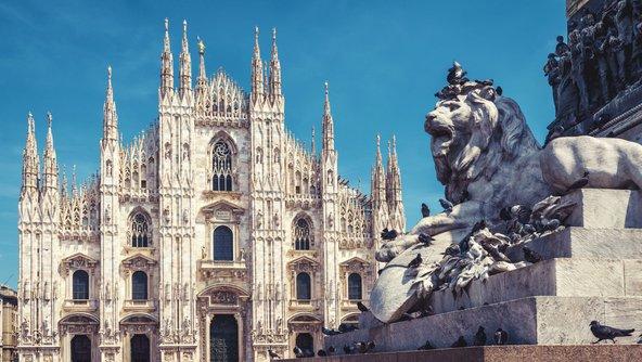 קתדרלת הדואומו שהפכה לסמלה של מילאנו