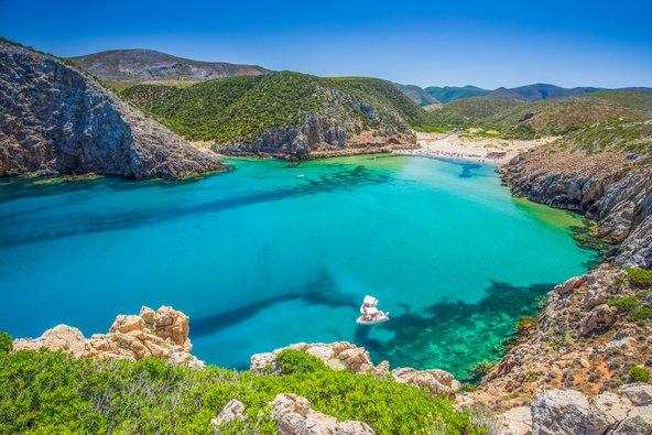 חוף חלומי בסרדיניה
