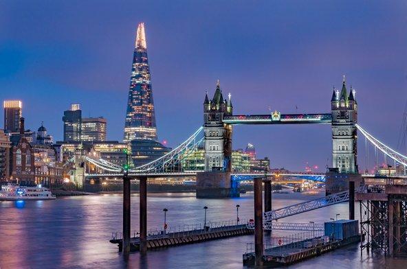 גשר לונדון ומגדל השארד | צילום: שאטרסטוק