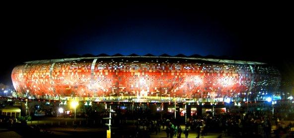 עיר הכדורגל ביוהנסבורג, האצטדיון הגדול באפריקה
