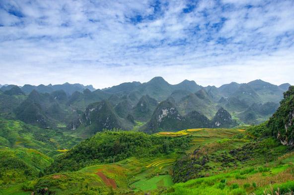הרים, עמקים וטרסות אורז בצפון-מערב וייטנאם