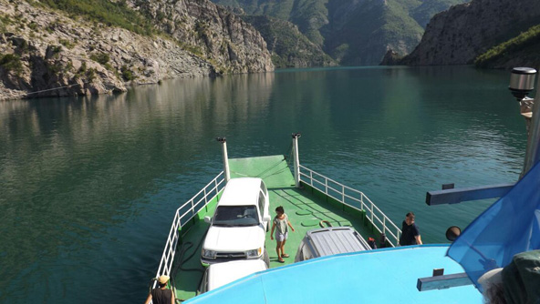 שייט באגם