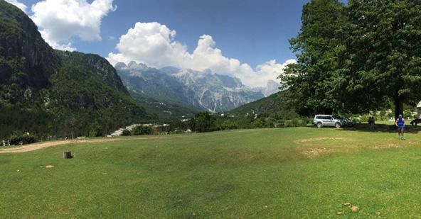 איך אפשר להישאר אדישים מול נופים שכאלה? הטבע האלבני במיטבו
