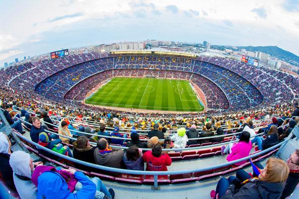 מפ נואו, האצטדיון הגדול באירופה וביתה של ברסה