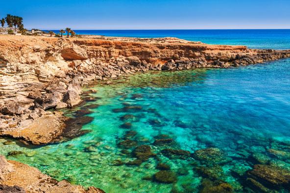 קייפ גרקו, שמורת טבע יפה בפינה הדרומית מזרחית של קפריסין