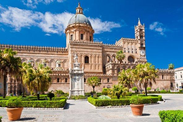 הקתדרלה של פלרמו. מגוון השפעות ארכיטקטוניות | צילומים: שאטרסטוק