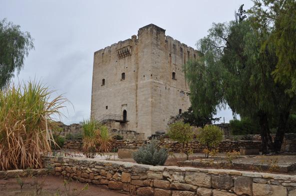 טירת קולוסי שנבנתה על ידי הצלבנים