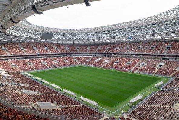 אצטדיון לוז'ניקי. מארח את מונדיאל 2018   צילום: Olga.Sh Shutterstock.com