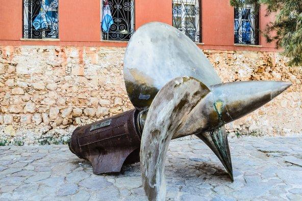 חזית המוזיאון הימי של כרתים | צילום: oran Vrhovac / Shutterstock.com
