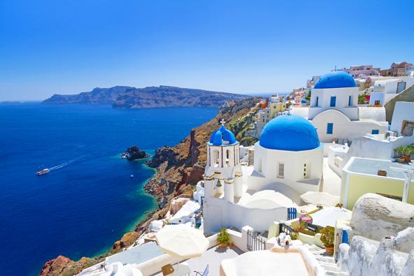 האי היווני סנטוריני