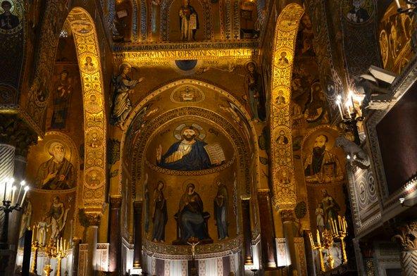 קפלה פלטינה בארמון הנורמנים | צילום: D.serra1 / Shutterstock.com