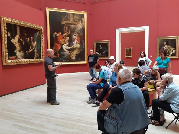 טריו מופלא - ולאסקז, רובנס, וקראוואג'ו - במוזיאון לאמנויות יפות ברואן