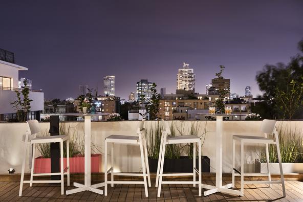 מלון שינקין: פיסת אירופה בתל אביב