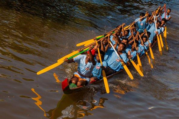 מרוץ סירות בפסטיבל המים