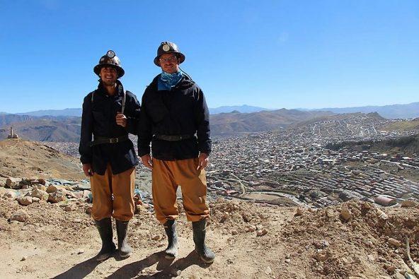 במכרות מעל העיר פוטוסי