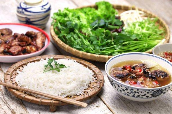 בון צ'ה, מהמאכלים הפופולריים בצפון וייטנאם