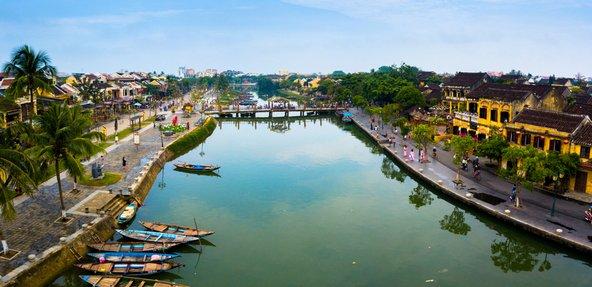 עיר התעלות הרומנטית הוי אן