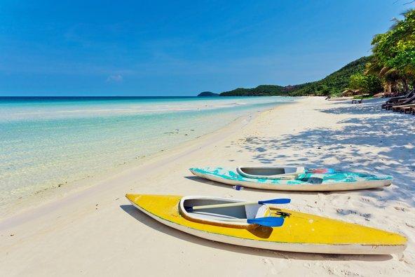 חוף טרופי חלומי בפו קווק