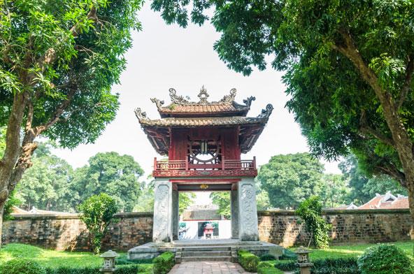 מקדש הספרות שנבנה במאה ה-11 | הצילומים בכתבה באדיבות Asiatica Travel