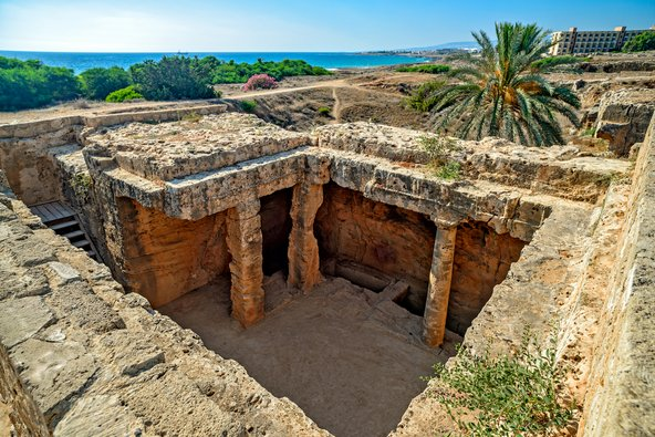קברי המלכים, מהאתרים הארכאולוגיים החשובים בפאפוס