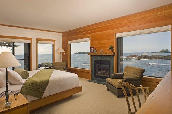 מהחדרים ב-Wickaninnish Inn נשקף נוף מדהים לים | הצילום באדיבות Wickaninnish Inn