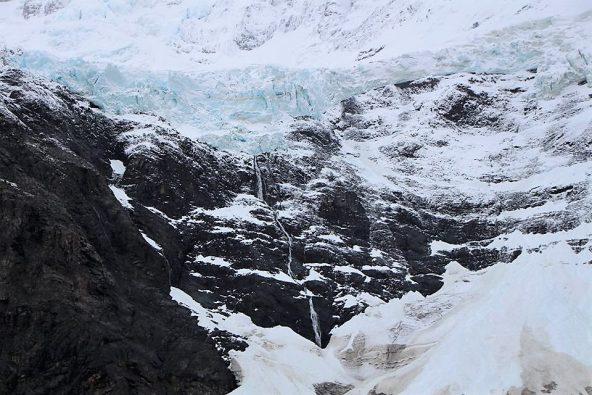 קרחון בעמק הצרפתי
