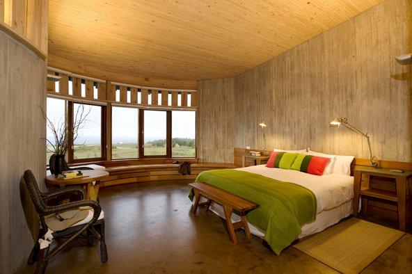 החדרים במלון Explora Rapa Nui מספקים שקט, פרטיות ונוף נפלא | צילום: באדיבות Explora