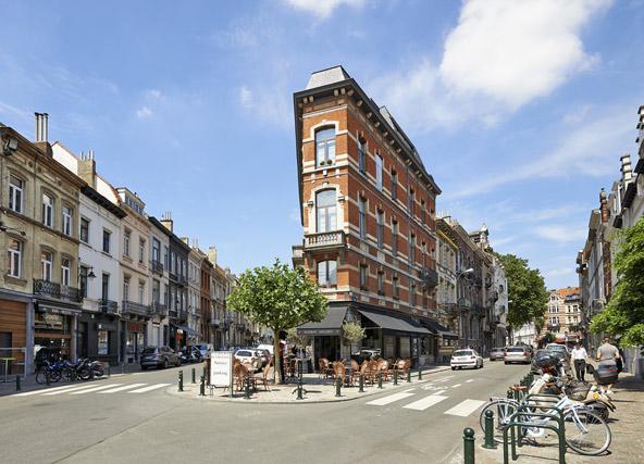 כיכר שטלאן, במיקום מושלם בין שתי שכונות - איקסל וסנט ז'יל