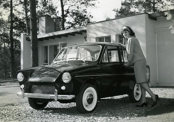 מכונית הנוסעים הראשונה של דאף, משנת 1958 | הצילום באדיבות Daf Museum