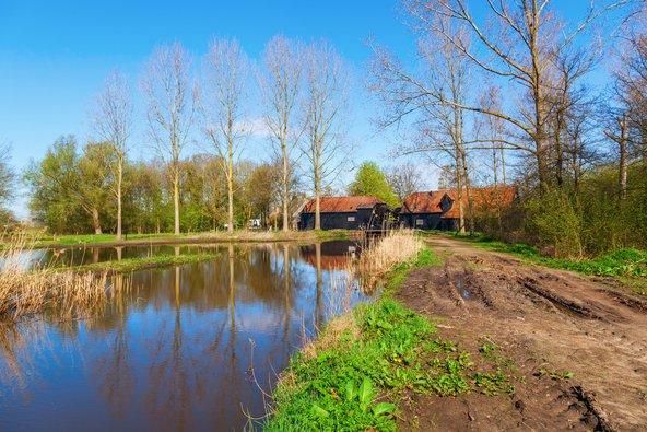 נוף בכפר נינן בו התגורר ויצר ואן גוך