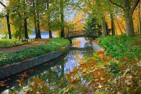 פינת חמד ב-Parc de la Tête d'Or הפארק העירוני בגדול בצרפת