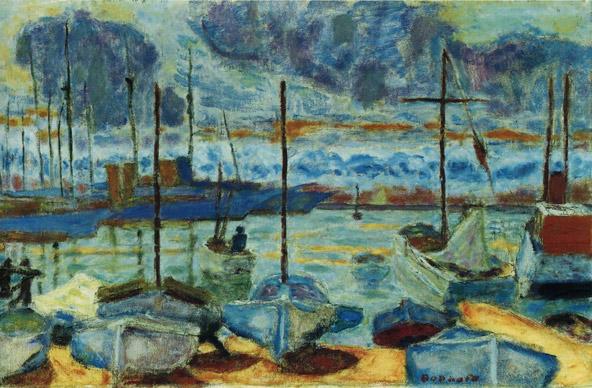 וככה זה נראה פעם: פייר בונאר, נמל קאן, 1927