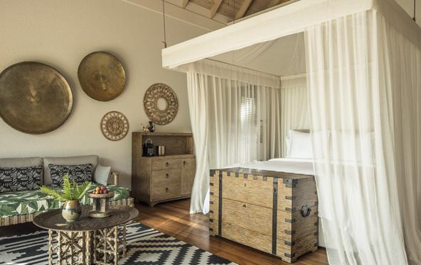 חדר מקסים ב-Desroches Island Resort, על אי פרטי בסיישל   צילומים באדיבות Four Seasons