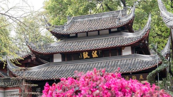 מקדש וונשו, המקדש הבודהיסטי השמור ביותר בצ'נגדו | צילום: lrosebrugh / Shutterstock.com