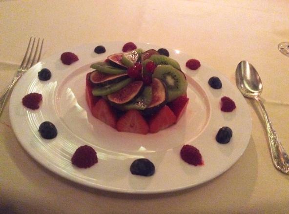 סיום נאה לארוחה | צילום: אביטל ענבר