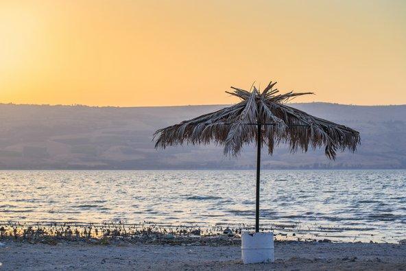 חופי הכנרת הם מקום אידאלי לחופשה בקרוואן