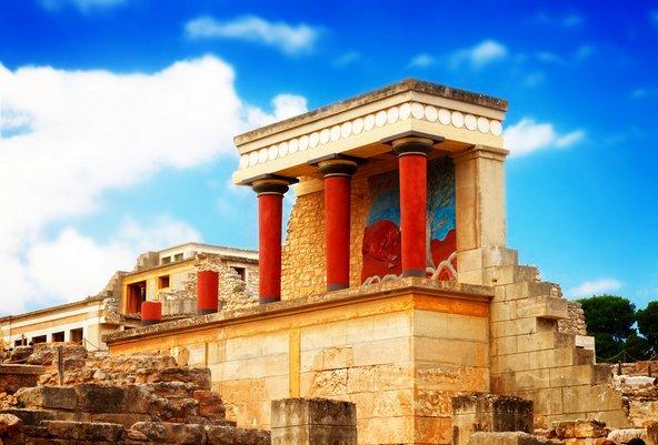 ארמון קנוסוס, האתר המינואי הגדול והשמור בכרתים