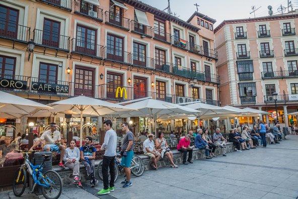 כיכר זוקודובר, הכיכר המרכזית של טולדו | צילום: John_Silver Shutterstock.com