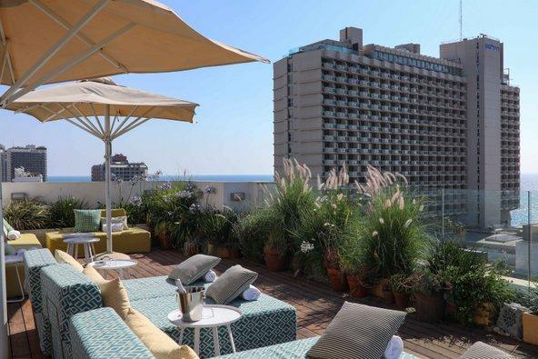 הגג של מלון מלודי | צילום: שרית גופן