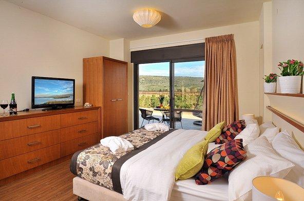 חדר עם נוף באחוזת אלישבע