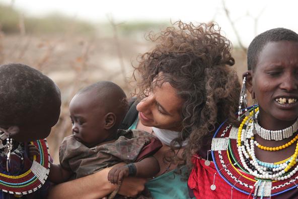 ביקור בשבט המסאי