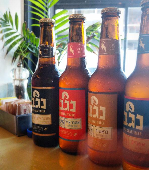 בירה נגב. גם בצפון המתכונים המקוריים נשמרים | צילום: דור אזולאי