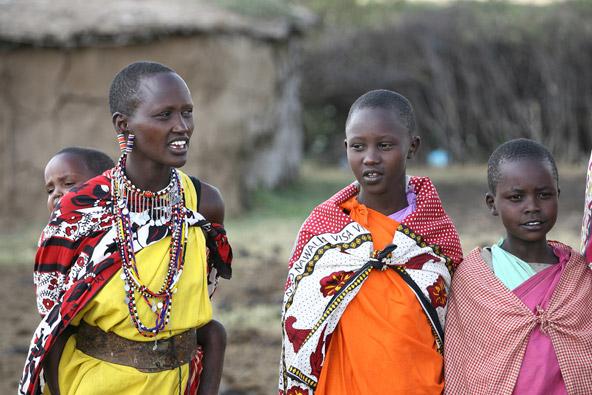 שבטים באפריקה: להיות בת שבט