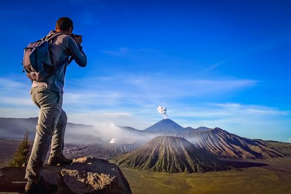 צילום: הרי געש ברחבי העולם