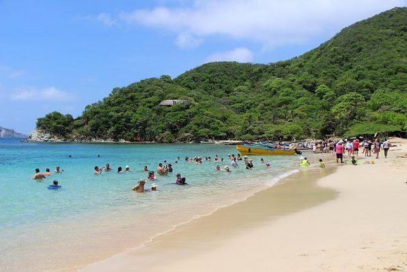 פלאייה קריסטל, החוף הקריבי, צפון קולומביה